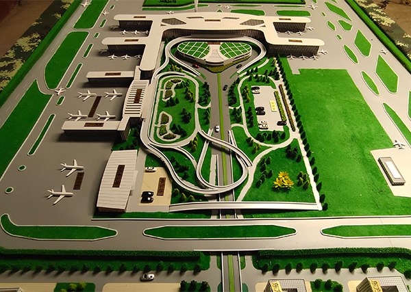 天河机场模型